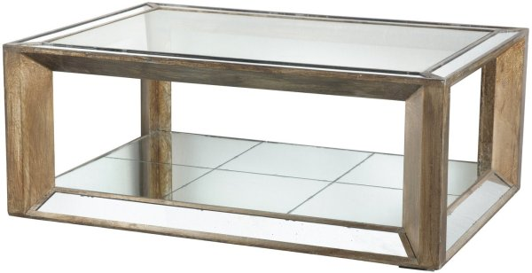 32054 Waverly Mirrored Cocktail Table