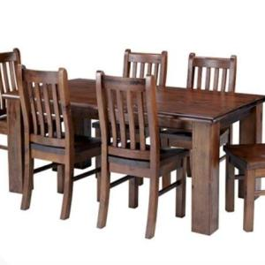 Brand new Dawson 1.8 solid wood dining table