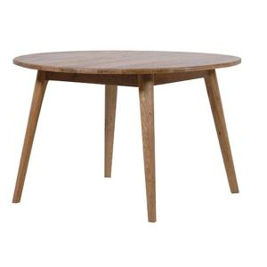 Vaasa Round Oak Table - 150cm