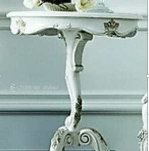 30% OFF LZ1206-W  French Vintage Style Side table