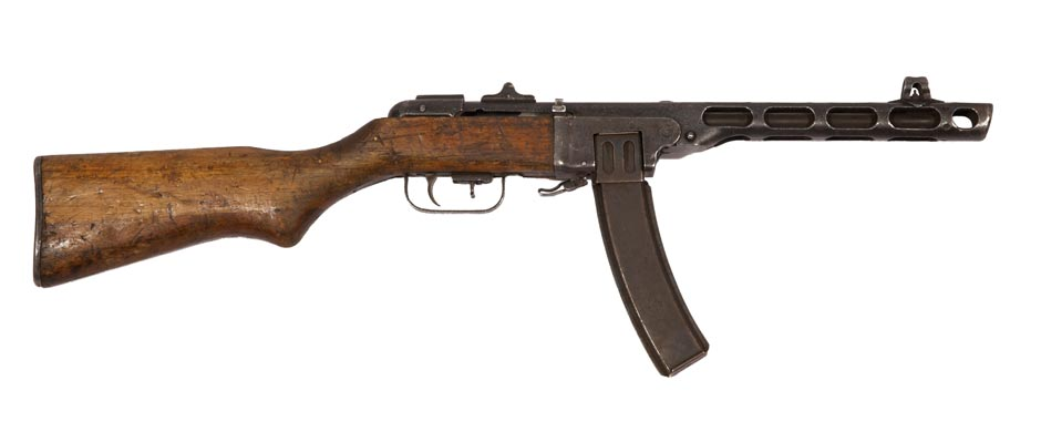Chinese Type 50 submachine gun NZHistory New Zealand