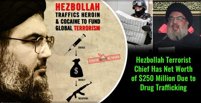 Résultat d'image pour Drogue du Hezbollah