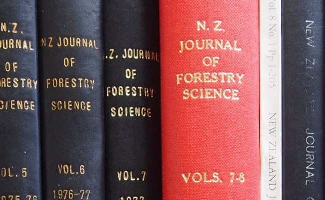 Editorial Team New Zealand Journal Of Forestry Science