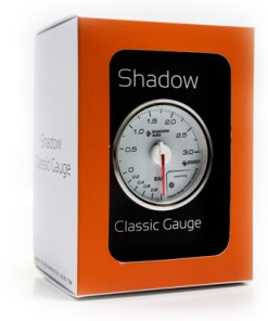 Shadow Classic Series Meter Clear face - Oil Press