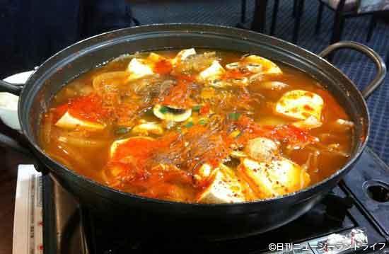 豆腐屋に感謝できる韓国レストラン「味香」