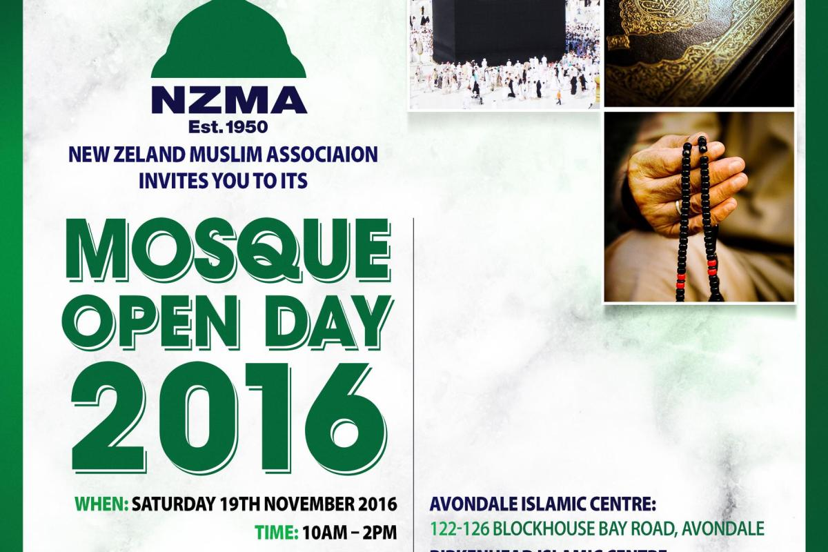 Mosque Open Day at Avondale