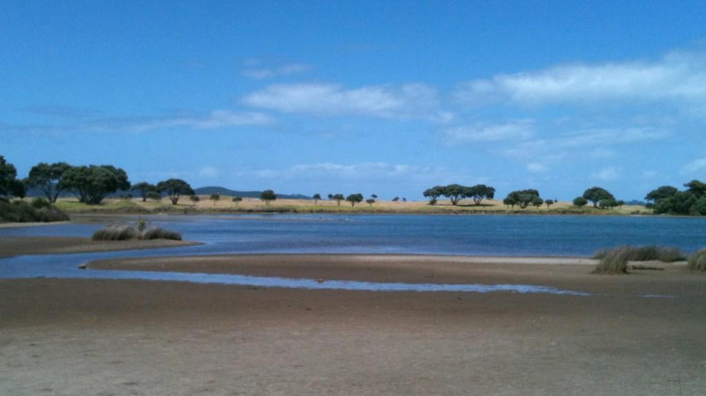 tawharanui lagoon