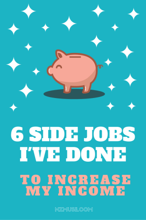 6 ways I've made money on the side