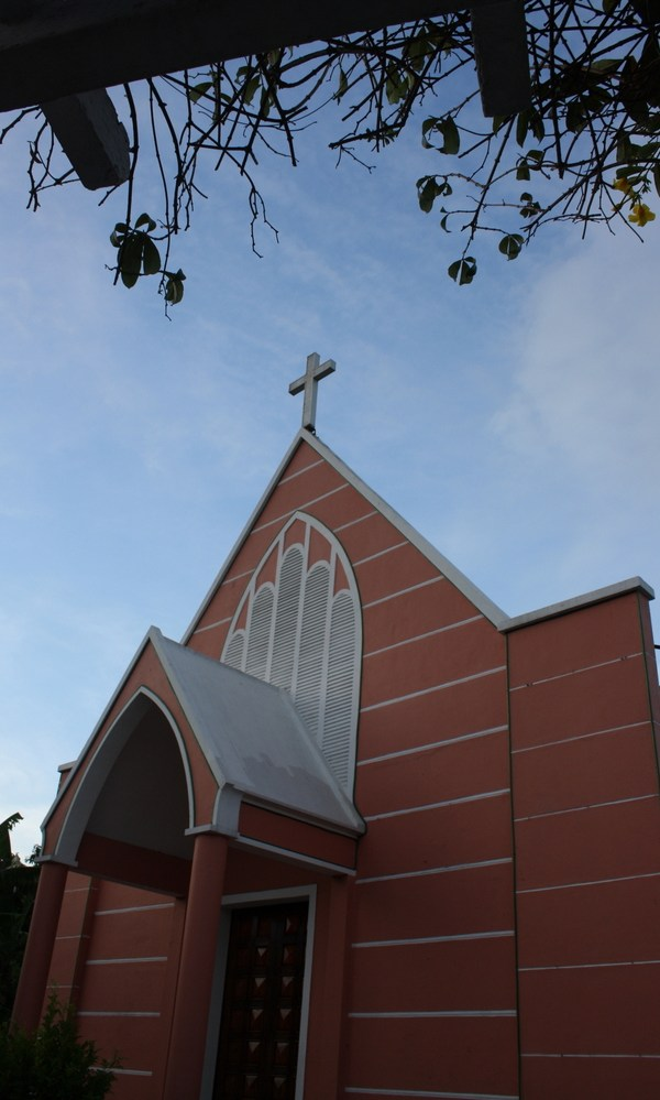 A new church in Hoi An