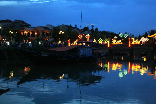 Hoi An river at night