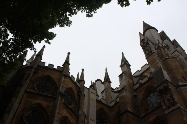 London gothic building