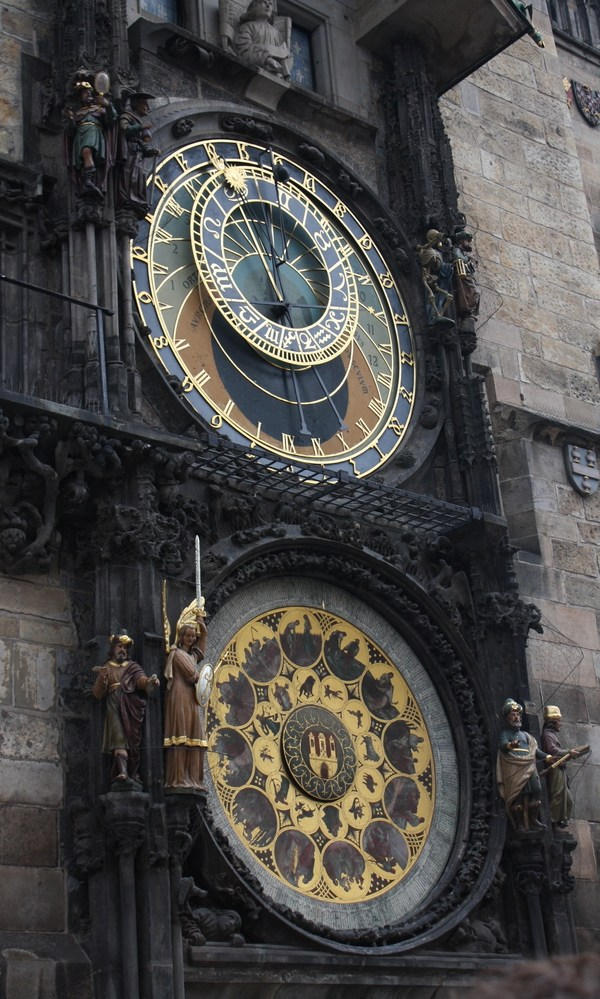 Astronomy Clock at Prague town square