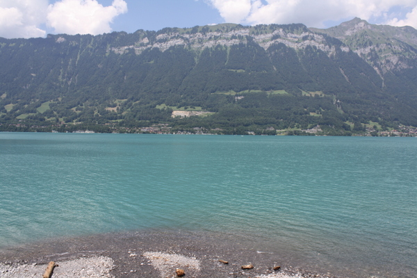 Lake Brienz in Interlaken
