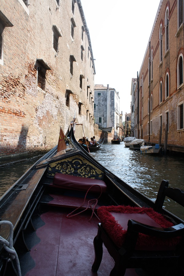 gondola ride in venice