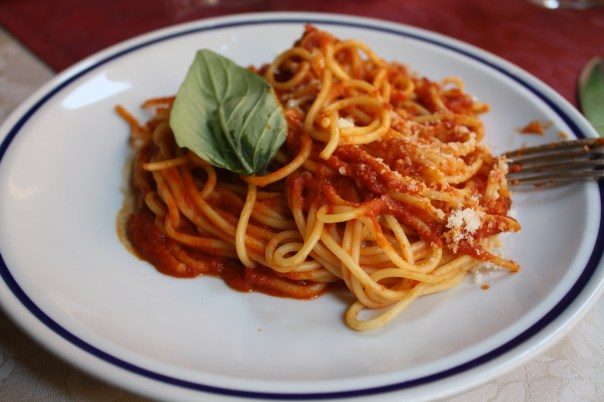 spaghetti bolognese rome