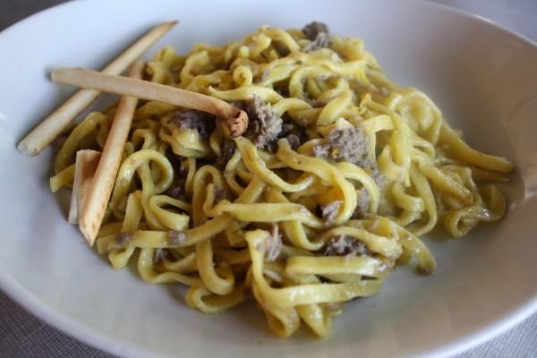 umbrian wild boar pasta