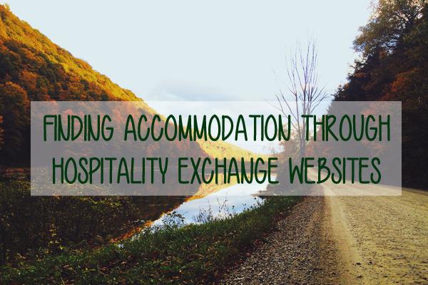 Finding free accommodation through hospitality exchange websites