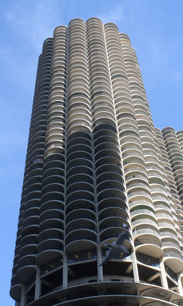 chicago marina city tower building