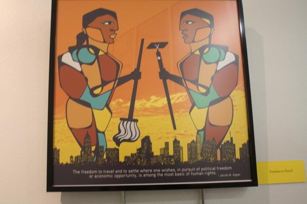 chicago library exhibit
