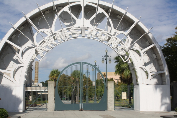 louis armstrong park new orleans nzmuse