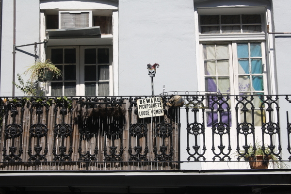 funny sign in new orleans