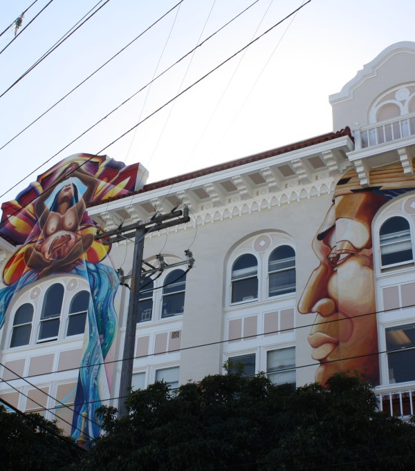San Francisco murals and street art in Mission District