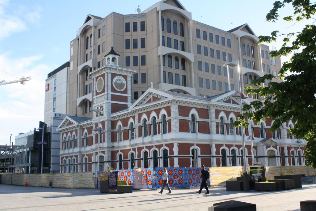 Christchurch city square in 2014