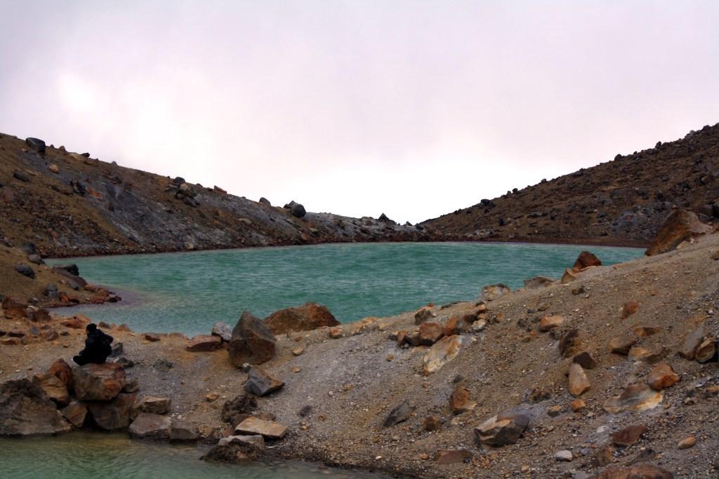 Tongariro Alpine crossing - Emerald Lakes