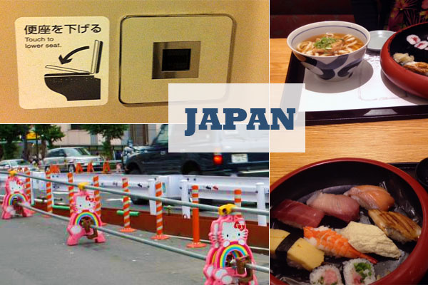 8 things that surprised me in Japan