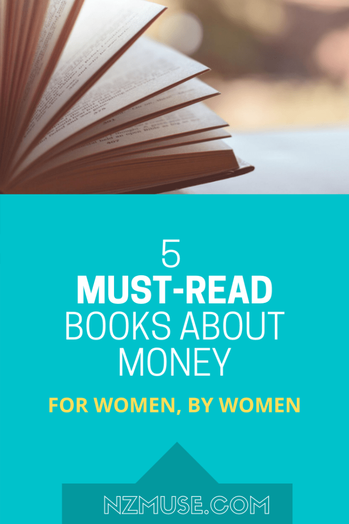 5 BOOKS about money for women - by women