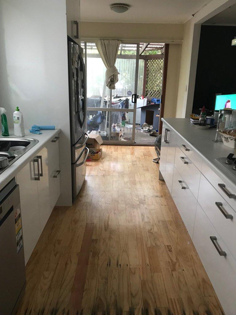 new kitchen view