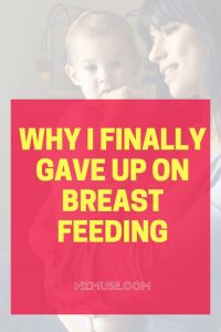 Breastfeeding a baby with food intolerances is tough!