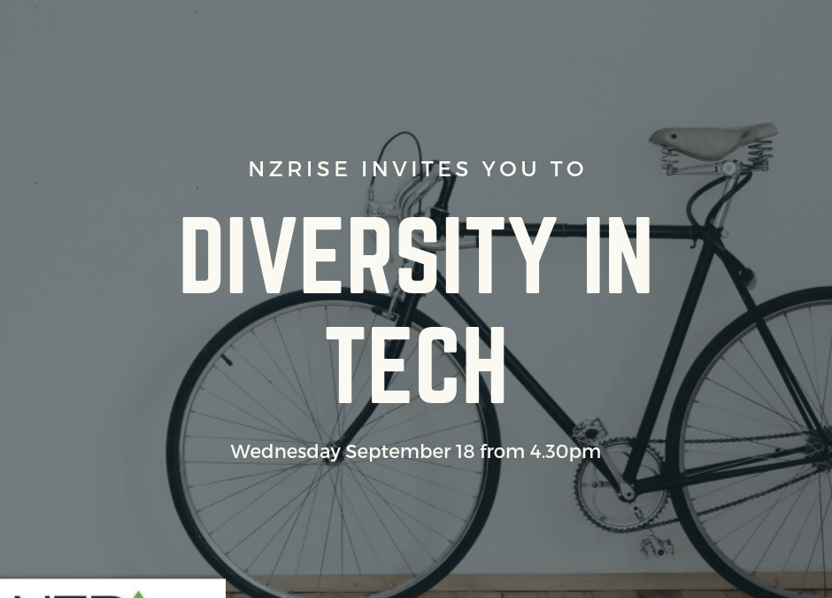 You're invited:  Diversity in Tech event, September 18