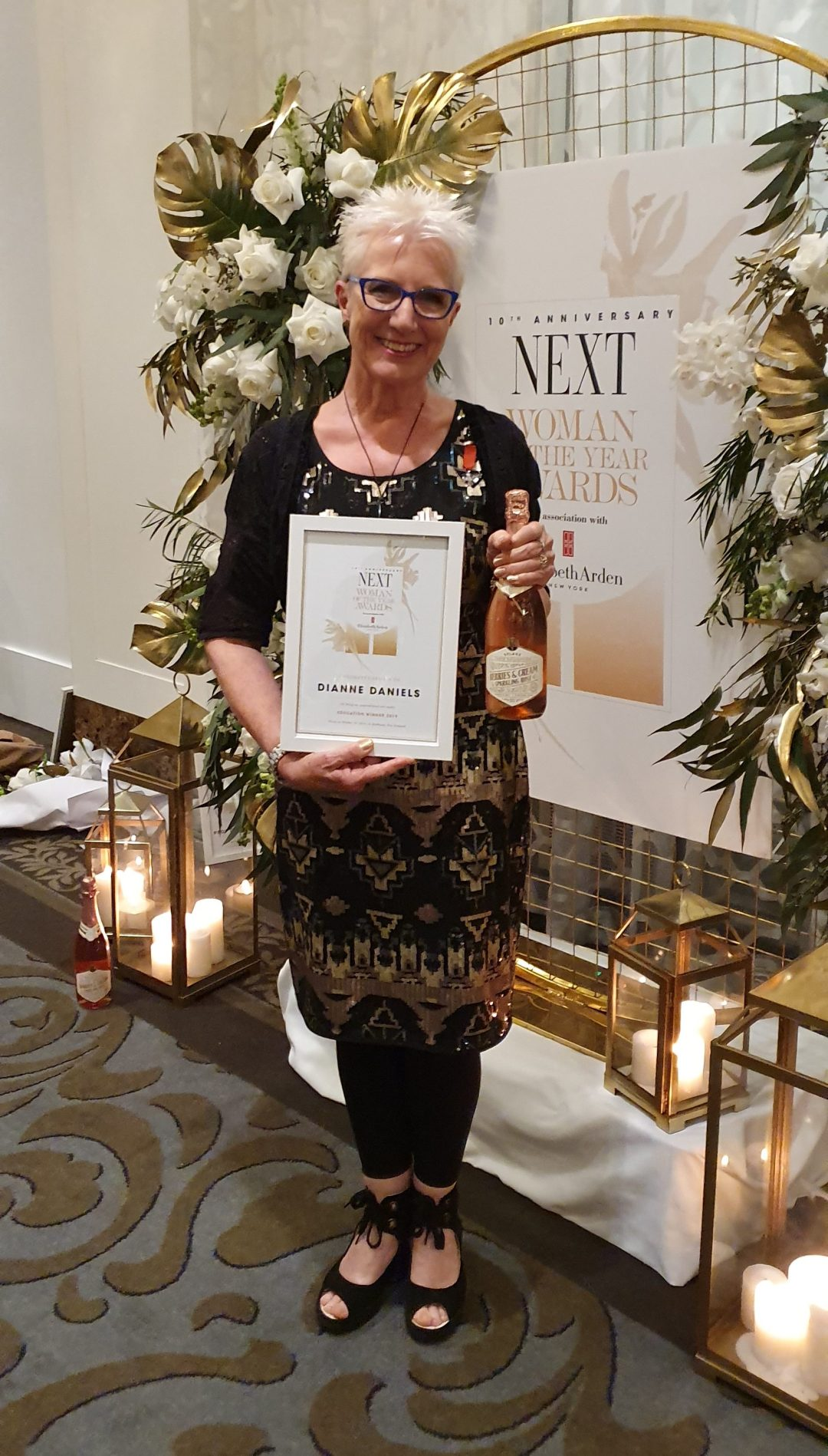 Di Daniels: Winner, education category, NEXT Woman of the Year Awards