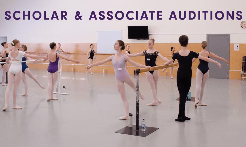 Scholars & Associates Programme Auditions