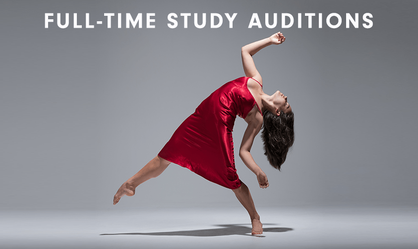 Full Time Auditions Update