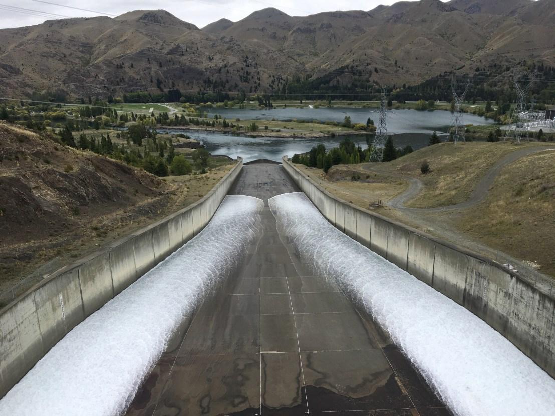 Benmore Dam Spillway | Meridian Energy | Hydropower | taken by Graham Boyd