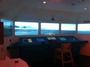 Ship bridge simulator