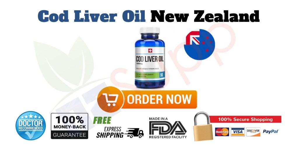 Buy Cod Liver Oil in New Zealand