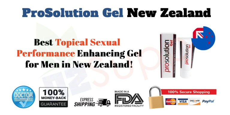 Prosolution Gel New Zealand Review