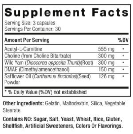 Winsol Ingredients Label