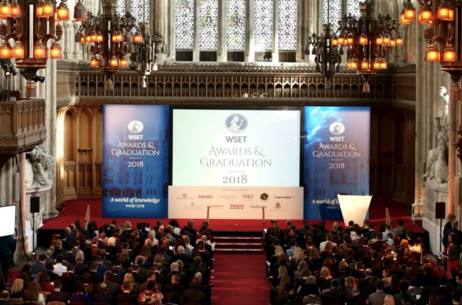 WSET Diploma - Awards and Graduation.