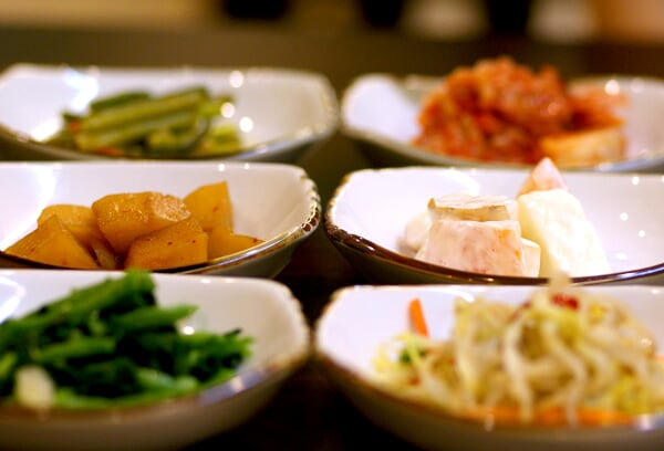 Enter the KimChi & appetizers...