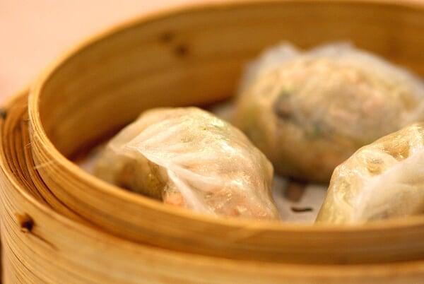 Steamed Assorted Mushroom Dumpling