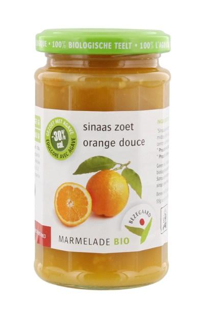 Bezegaard-bio-marmelade-sinaas-zoet_gezoet-met-agave