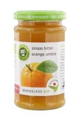Bezegaard bio marmelade sinaas bitter_gezoet met agave 250g