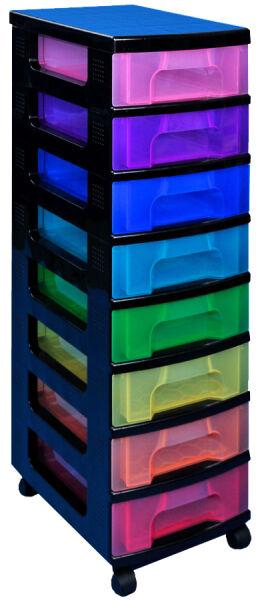 tour de rangement 8 tiroirs really useful box au meilleur prix