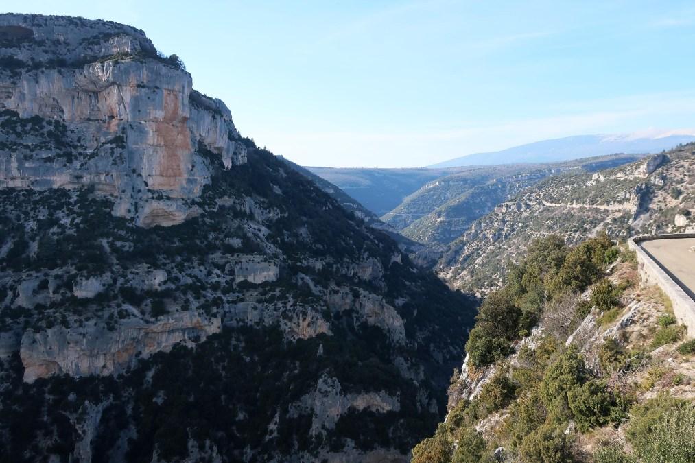 Les gorges de la Nesque | Monieux