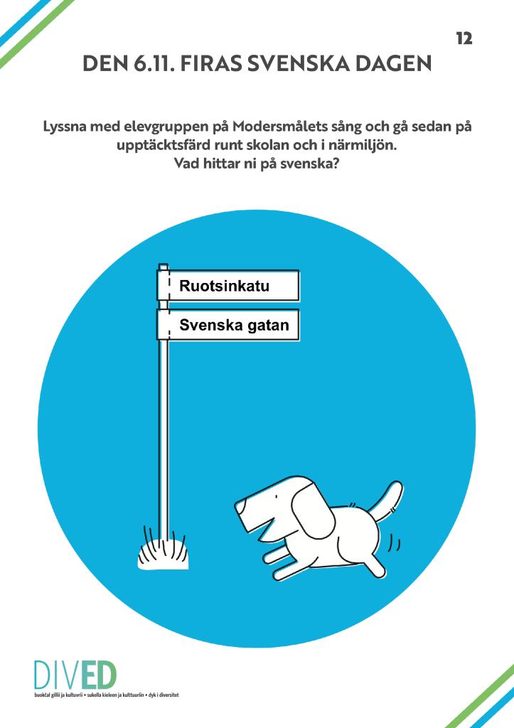 Länk till DivED-pdf om Svenska dagen.