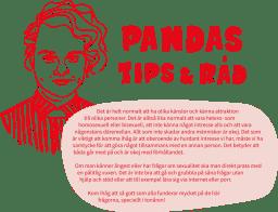 Bild på Pandas Tips & Råd